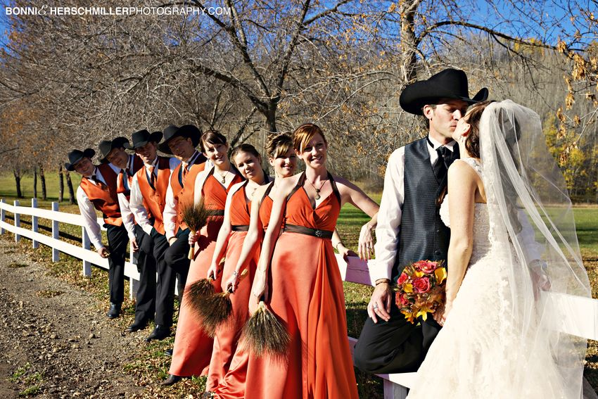 I have one more blog to post from this stunning western wedding